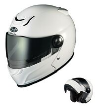 OGK KABUTO AFFID WHITE Metallic S Small  Helmet Japanese Model