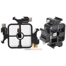 3in1 All-metal Triple Hot Shoe Mount Adapter fr Flash Holder Bracket Light Stand