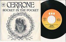 "CERRONE 45 TOURS 7"" ITALIE ROCKET IN THE POCKET"