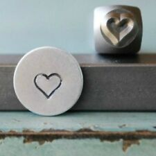 SUPPLY GUY 5mm Large Heart Metal Punch Design Stamp SGCH-75