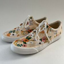 Keds Rifle Paper Co Anchor Lively Floral Sneakers Shoes Womens 9 Flowers