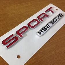 NEW 2014 GENUINE RANGE ROVER SPORT HSE SDV8 BADGE*REAR BOOT TAILGATE BADGE