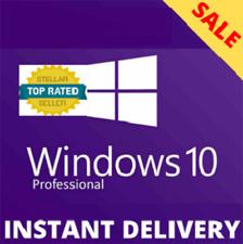 Windows 10 Pro Activation Licence ✔Key Professional 64-32bit ✔Genuine Key✔