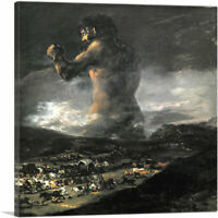 ARTCANVAS The Colossus 1808 Canvas Art Print by Francisco De Goya