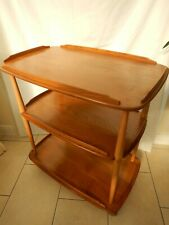 ERCOL WINDSOR 3 TIER TEA TROLLEY