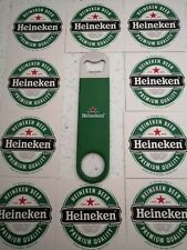 Heineken Beer Mats and  bottle opener 🍺🍺🍺🍺🍺🍺🍺🍺🍺🍺🍺🍺🍺🍺