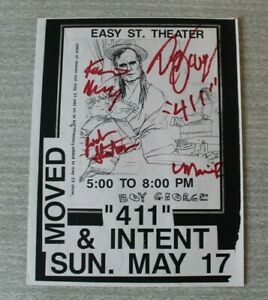Original Autographed 411 'Boy George' Flyer/Handbill Easy St Theater 1991