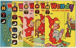 Wendy #59 - 89 (14 issues)  File Copies  avg. NM 9.4  Harvey  1970  No Reserve