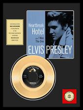 """ELVIS PRESLEY HEARTBREAK HOTEL 7"""" GOLDENE SCHALLPLATTE"""