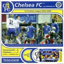 CHELSEA 2003-04 Portsmouth (Scott Parker) Football Stamp Victory Card #327