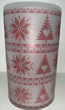 "Yankee Candle MOUNTAIN HOLIDAY NORDIC Jar Candle Holder 8"" NWT"