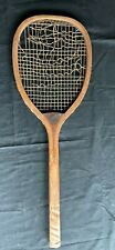 Antique Tennis Racket Spalding Flat Top