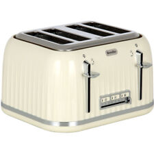 Breville VTT702 Impressions 4 Slice Toaster Cream New from AO