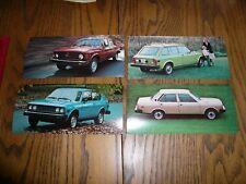 1977 Fiat 128 Custom Wagon 3P Coupe 4 Dr 131 Sedan Large Factory Postcard - 4