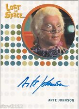 THE COMPLETE LOST IN SPACE ARTE JOHNSON FEDOR PRINCESS OF SPACE AUTOGRAPH