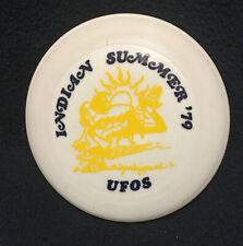 "VTG Late 70's Wham-o Frisbee Disc 4""-MINI INDIAN SUMMER '79.  UFOS"