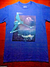 VINTAGE STAR WARS REVELL IMPERIAL SHUTTLE GRAPHIC MENS T SHIRT SIZE MEDIUM. NICE