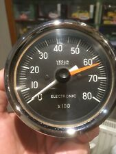 veglia borletti rev counter tachometer 80mm used 68.3551/1