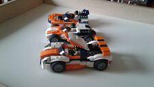 lego Creator 31089 +figurines pour chaque véhicule qui ont été ajoutée par moi