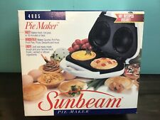 VERY RARE BRAND NEW Sunbeam Pie Maker Model 4805 101 Recipes