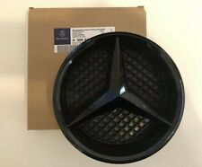 Mercedes Gloss Black Front Grille Star Badge A C GLA CLA ML CLS E Class + Base