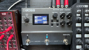 BOSS RV-500 reverb pedal Immaculate Condition With Box And Power Supply