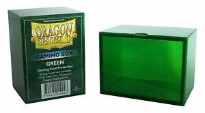Gaming Box Dragon Shield Magic GREEN Verde Porta Mazzo Scatola 100 Carte