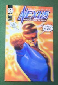 Nexus Nightmare in Blue #4 Dark Horse Comics Bronze Age Steve Rude M Baron vfnm