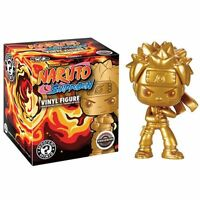 Gold Naruto EXCLUSIVE RARE Vinyl Mystery Mini Figure Shippuden Golden Sealed NEW