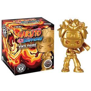 Gold Naruto EXCLUSIVE RARE Vinyl Mystery Mini Figure Shippuden Golden Funko