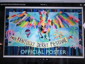 2021 Kentucky Derby Festival Poster Art Pin