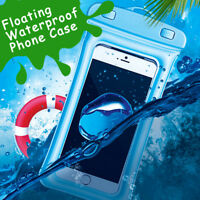 Floating Waterproof Bag Underwater Pouch Dry Case Cover For iPhone Cell Phone