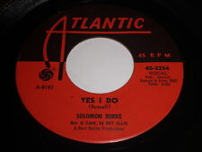 Solomon Burke: Yes I Do / Won't You Give Him (One More Chance) 45 - Soul