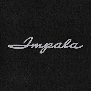 Lloyd Mats Velourtex Black Front Floor Mats For Chevrolet Impala 1961-1962
