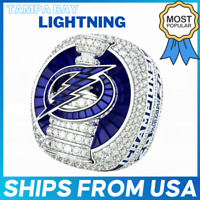 FROM USA - TAMPA BAY LIGHTNING 2020 2021 Championship Ring Stanley Cup OFFICIAL