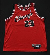 MICHAEL JORDAN Chicago Bulls Nike 1984 Authentic Jersey Screen Print Red 52  2XL 902a072f99d