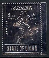 Silbermarke Napoleon State of Oman postfrisch