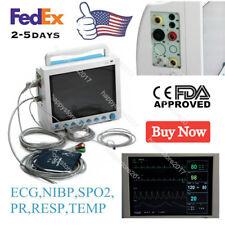 CONTEC Vital Signs ICU CCU Patient Monitor,ECG SpO2 Pr NIBP Temp Resp CMS8000 US