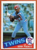 1985 Topps #536 Kirby Puckett ROOKIE RC NEAR MINT Minnesota Twins FREE SHIPPING