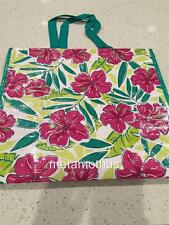 Tupperware Logo Glamour Reusable Shopping Bag Tote Floral NEW