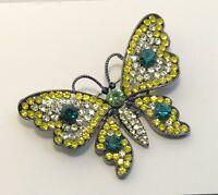 Vintage Butterfly Brooch Pin