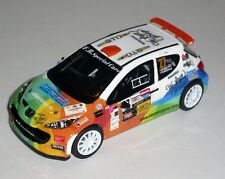 PEUGEOT 207 S2000 PIN RALLY DEL TICINO  2017 DECALS 1/43 NO KIT NO MODEL