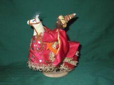"""Vtg Cepelia, Polish Handmade Folk Art Doll MAN HORSE COSTUME Para Krakowska 6"""""""