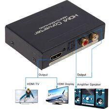 HDMI-Audio-Extractor Splitter zu SPDIF optische RCA Stereo l/r-Analog-Wandler