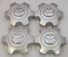 4x Toyota Tundra Sequoia 2003-2007 Silver TOYOTA TUNDRA SEQUOIA Center Caps Cap