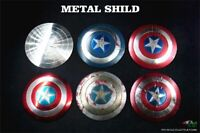 """1PC BY-ART 1/6 BY-S3-8 Metal Shield Props For 12"""" Captain America Figure Presale"""