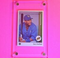GARY SHEFFIELD ROOKIE CARD 1989 Upper Deck Baseball RC Milwaukee Brewers Braves