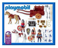Playmobil 3152 / 5712 Viking Raiders Horse, Cart, Treasure Chest, New 2002