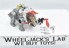 Slag * 100% Complete 1985 Vintage G1 Transformers Triceratops Action Figure