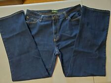MEN'S OUTDOOR LIFE JEANS SIZE 36X32 RELAXED FIT 5 POCKET JEANS EXPLORE, DISCOVER